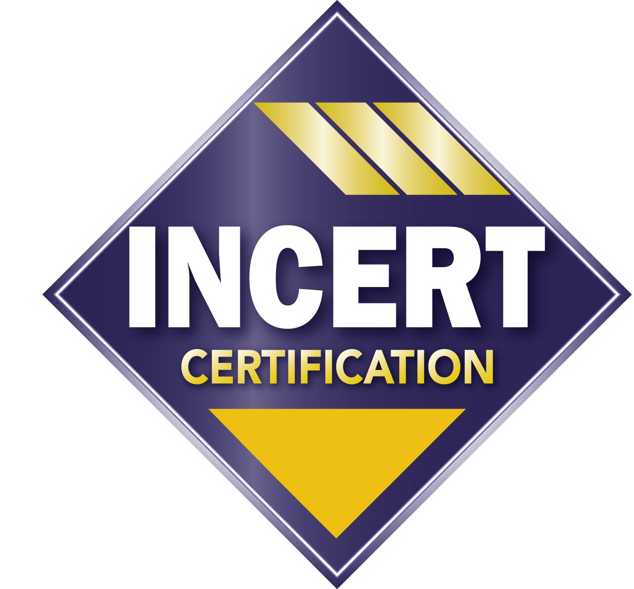 Het gele INCERT-label beoordeelt de veiligheid van gebouwen bij GW Security Group