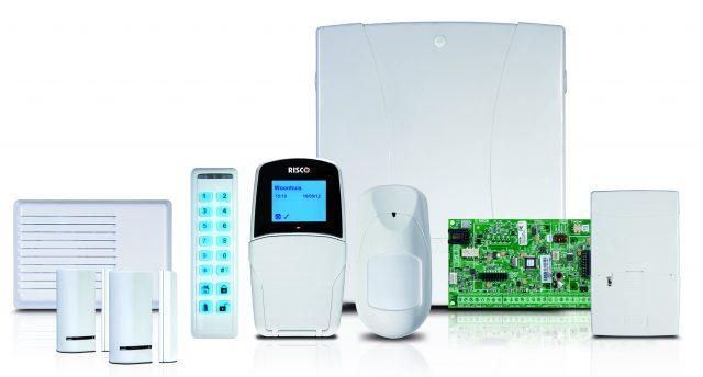 Verzameling componenten voor het alarmsysteem van uw woning of bedrijf via GW Security Group