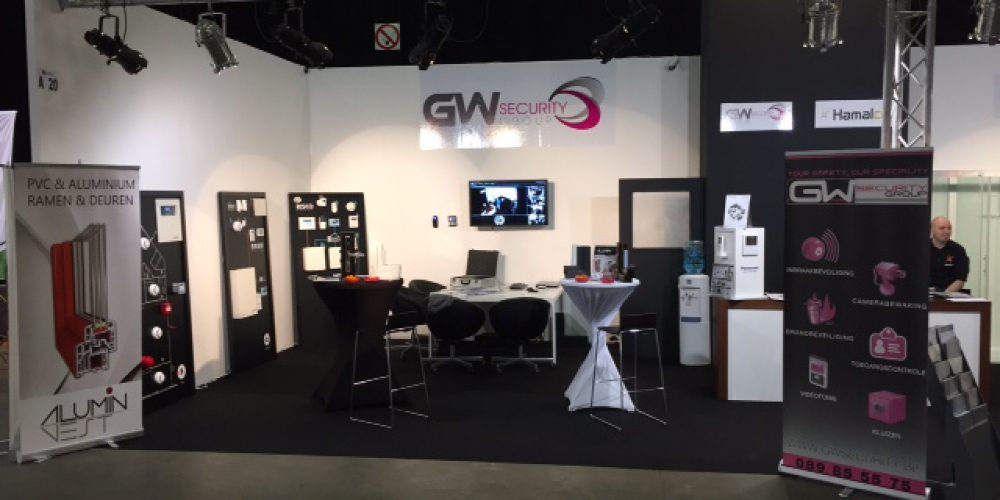 GW Security op de Relife beurs te Genk 15-16-17 April